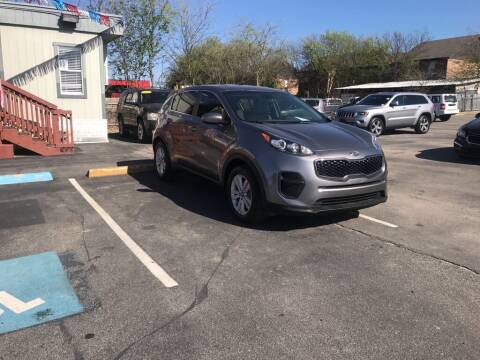 2017 Kia Sportage for sale at Auto Solution in San Antonio TX