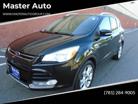 2014 Ford Escape for sale at Master Auto in Revere MA