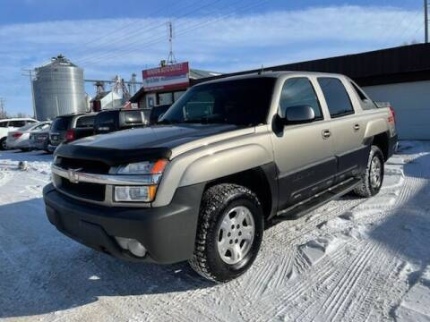 2003 Chevrolet Avalanche for sale at WINDOM AUTO OUTLET LLC in Windom MN