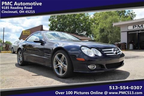 2007 Mercedes-Benz SL-Class for sale at PMC Automotive in Cincinnati OH