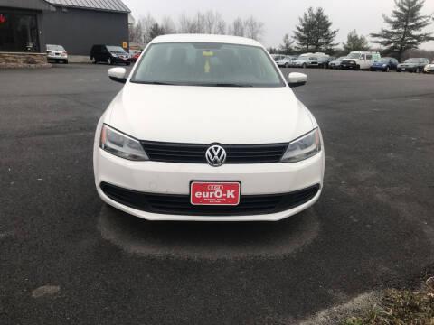 2011 Volkswagen Jetta for sale at eurO-K in Benton ME