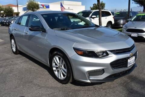 2018 Chevrolet Malibu for sale at DIAMOND VALLEY HONDA in Hemet CA