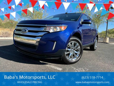 2014 Ford Edge for sale at Baba's Motorsports, LLC in Phoenix AZ