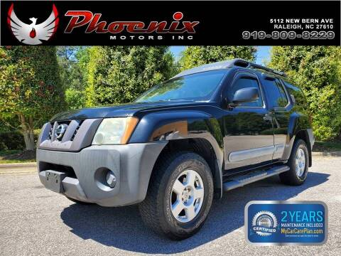 2006 Nissan Xterra for sale at Phoenix Motors Inc in Raleigh NC
