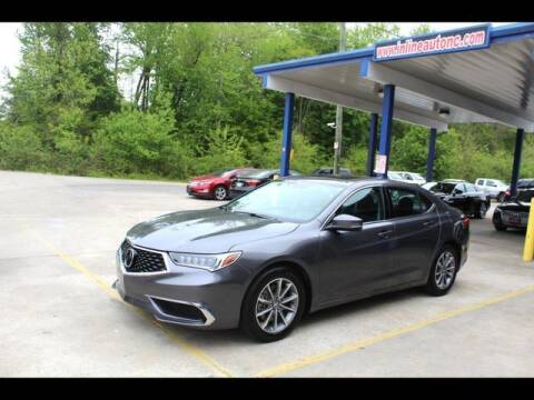 2020 Acura TLX for sale at Inline Auto Sales in Fuquay Varina NC