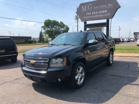2007 Chevrolet Avalanche for sale at MG Auto Sales in Sioux City IA