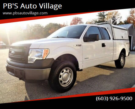2014 Ford F-150 for sale at PB'S Auto Village in Hampton Falls NH