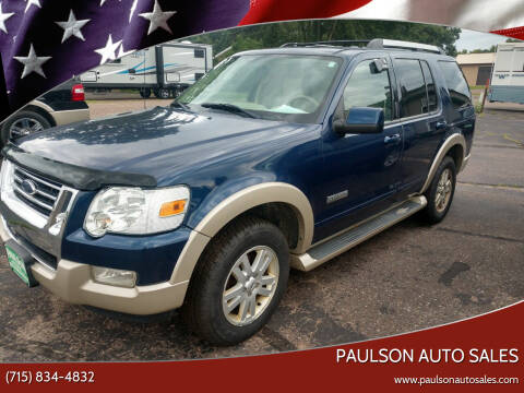 2006 Ford Explorer for sale at Paulson Auto Sales in Chippewa Falls WI