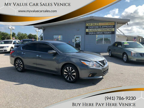 2017 Nissan Altima for sale at My Value Car Sales - Upcoming Cars in Venice FL