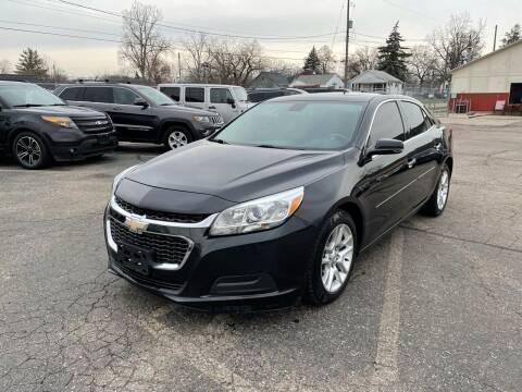2015 Chevrolet Malibu for sale at Dean's Auto Sales in Flint MI