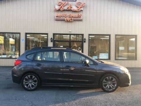 2012 Subaru Impreza for sale at K & L AUTO SALES, INC in Mill Hall PA