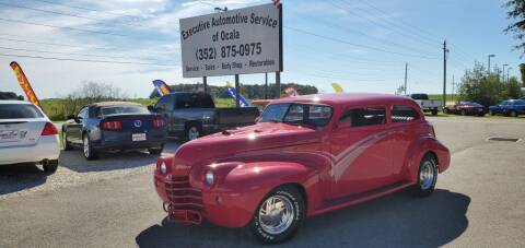 1940 Oldsmobile HOT ROD for sale at Executive Automotive Service of Ocala in Ocala FL
