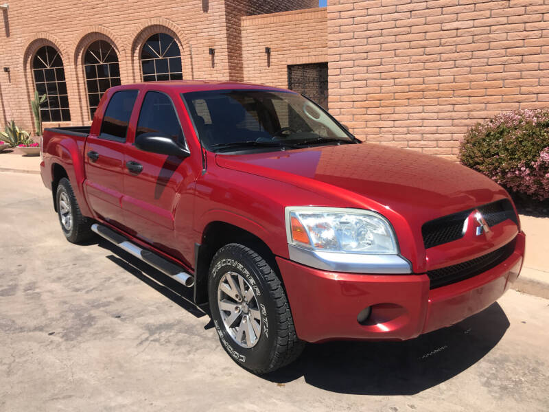 2008 Mitsubishi Raider for sale at Freedom  Automotive in Sierra Vista AZ