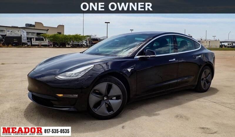 2019 Tesla Model 3 for sale at Meador Dodge Chrysler Jeep RAM in Fort Worth TX