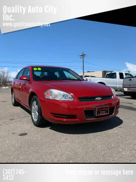 2008 Chevrolet Impala for sale at Quality Auto City Inc. in Laramie WY
