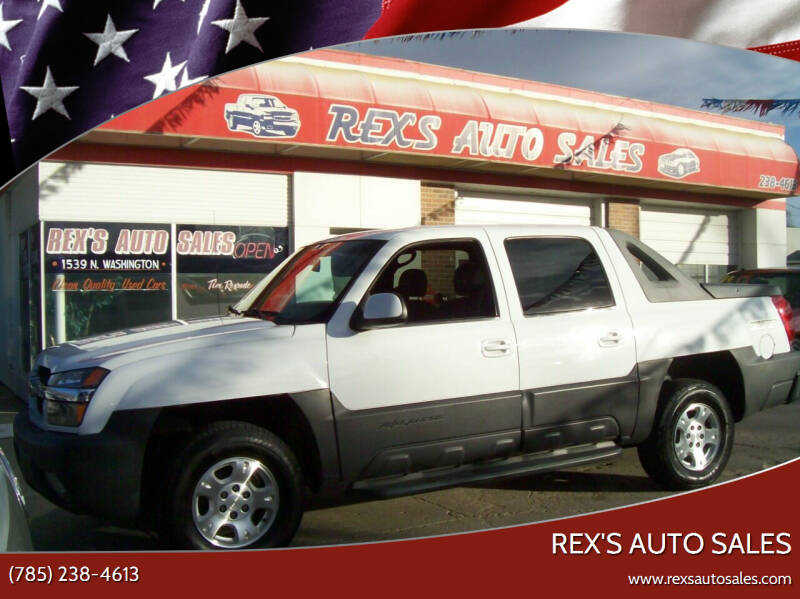 2003 Chevrolet Avalanche for sale at Rex's Auto Sales in Junction City KS