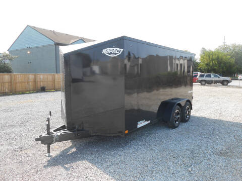 2021 Impact Shockwave 7x14 for sale at Jerry Moody Auto Mart - Trailers in Jeffersontown KY