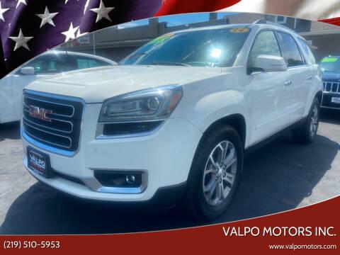 2014 GMC Acadia for sale at Valpo Motors in Valparaiso IN