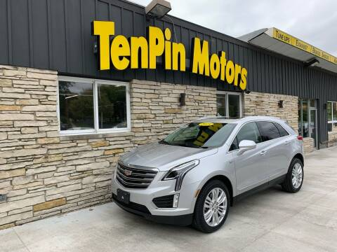 2019 Cadillac XT5 for sale at TenPin Motors LLC in Fort Atkinson WI