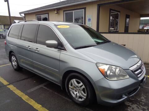 2005 Honda Odyssey for sale at BBL Auto Sales in Yakima WA