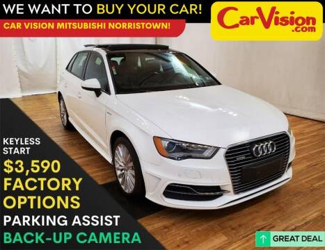 2016 Audi A3 Sportback e-tron for sale at Car Vision Mitsubishi Norristown in Trooper PA