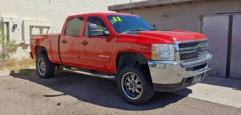 2012 Chevrolet Silverado 2500HD for sale at Advantage Motorsports Plus in Phoenix AZ