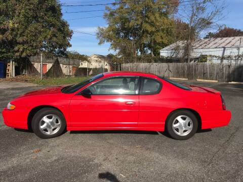 2001 Chevrolet Monte Carlo for sale at Mike's Auto Sales of Charlotte in Charlotte NC