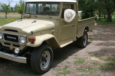 1982 Toyota Land Cruiser for sale at Classic Car Deals in Cadillac MI