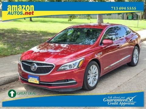 2018 Buick LaCrosse for sale at Amazon Autos in Houston TX