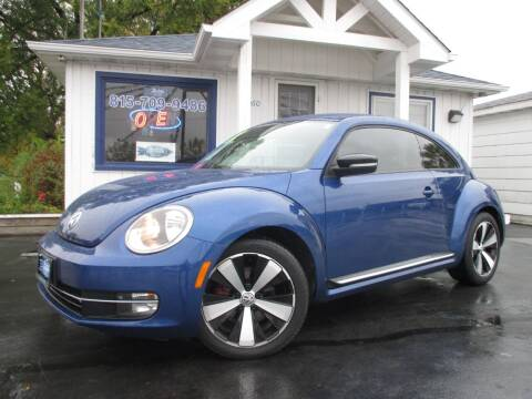 2012 Volkswagen Beetle for sale at Blue Arrow Motors in Coal City IL