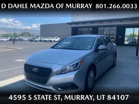 2017 Hyundai Sonata Hybrid for sale at D DAHLE MAZDA OF MURRAY in Salt Lake City UT
