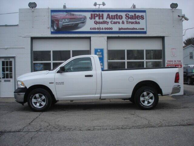 2017 RAM Ram Pickup 1500 for sale at JPH Auto Sales in Eastlake OH