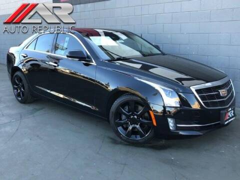 2016 Cadillac ATS for sale at Auto Republic Fullerton in Fullerton CA