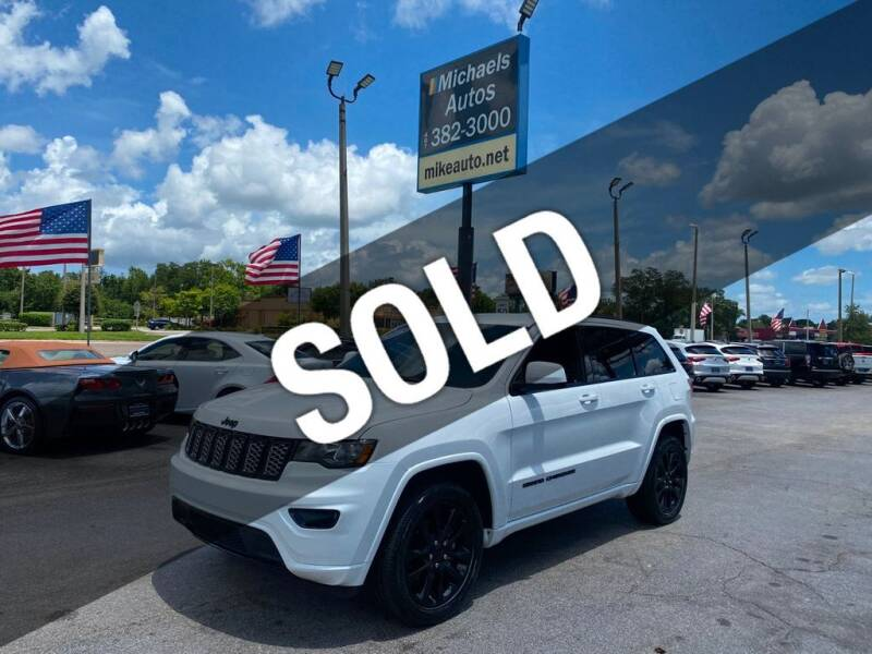2019 Jeep Grand Cherokee for sale at Michaels Autos in Orlando FL
