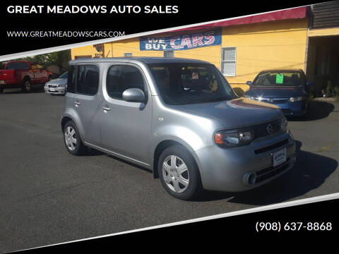 2010 Nissan cube for sale at GREAT MEADOWS AUTO SALES in Great Meadows NJ