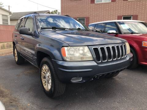 2002 Jeep Grand Cherokee for sale at Rine's Auto Sales in Mifflinburg PA