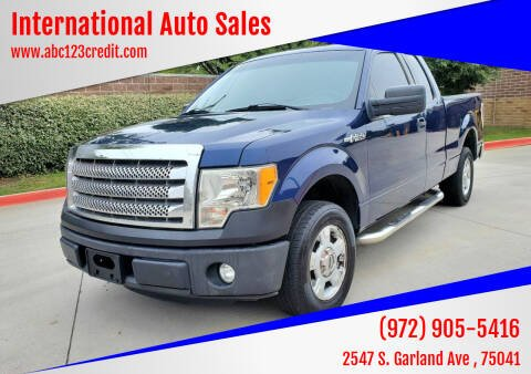 2012 Ford F-150 for sale at International Auto Sales in Garland TX