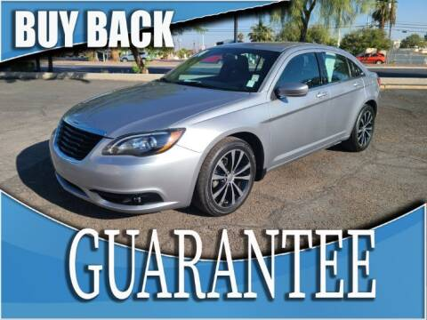 2014 Chrysler 200 for sale at Reliable Auto Sales in Las Vegas NV