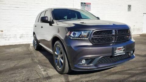 2017 Dodge Durango for sale at ADVANTAGE AUTO SALES INC in Bell CA