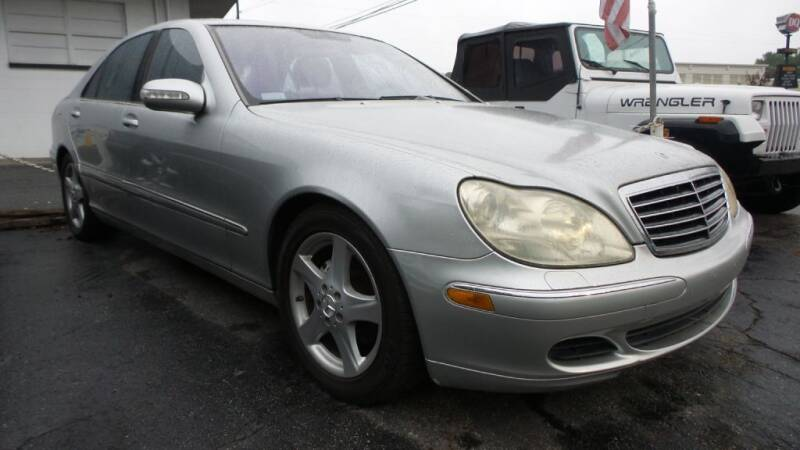 2005 Mercedes-Benz S-Class for sale at E-Motorworks in Roswell GA