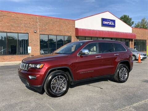 2020 Jeep Grand Cherokee for sale at Impex Auto Sales in Greensboro NC
