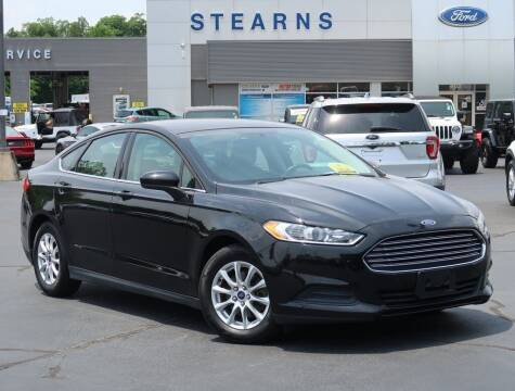2015 Ford Fusion for sale at Stearns Ford in Burlington NC