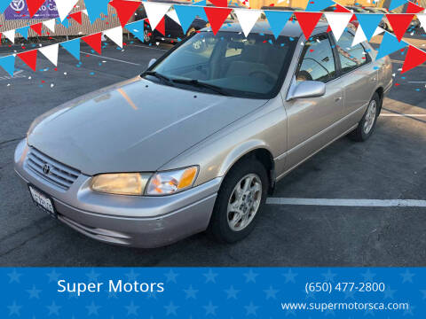 1999 Toyota Camry for sale at Super Motors in San Mateo CA