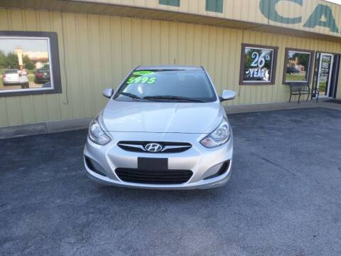 2012 Hyundai Accent for sale at Credit Cars of NWA in Bentonville AR