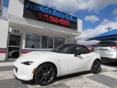 2016 Mazda MX-5 Miata for sale at Franklin Auto Sales in El Paso TX