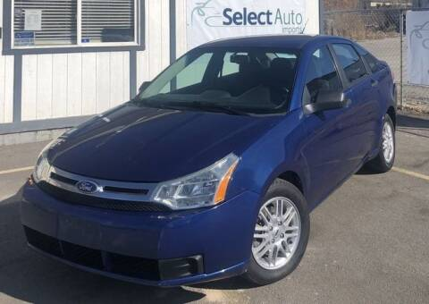 2009 Ford Focus for sale at Select Auto Imports in Provo UT