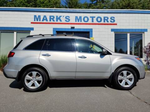 2011 Acura MDX for sale at Mark's Motors in Northampton MA