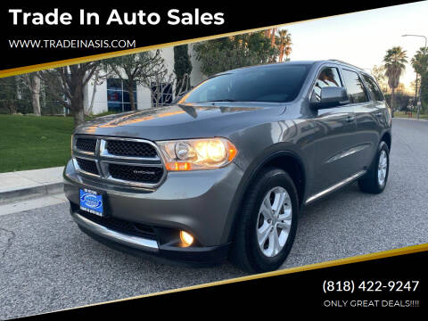 2011 Dodge Durango for sale at Trade In Auto Sales in Van Nuys CA