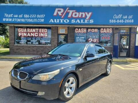 2008 BMW 5 Series for sale at R Tony Auto Sales in Clinton Township MI