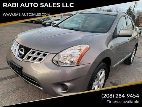 2011 Nissan Rogue for sale at RABI AUTO SALES LLC in Garden City ID